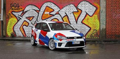 Auf die Leistung kommt es an: Wimmer Rennsporttechnik geht der Leistung dieses VW Polo R WRC mächtig an den Kragen.