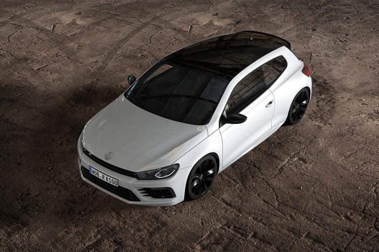 Besonders markant beim VW Scirocco R Black Style: Die Dachlinie.