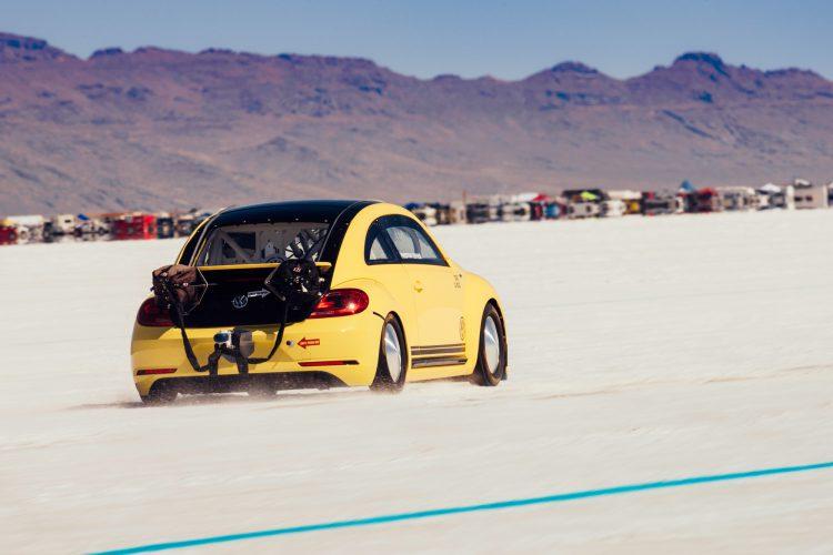 Powerplay auf allen Töpfen: Der VW Beetle LSR ist alles andere als ein serienmäßiger Käfer-Nachfolger.