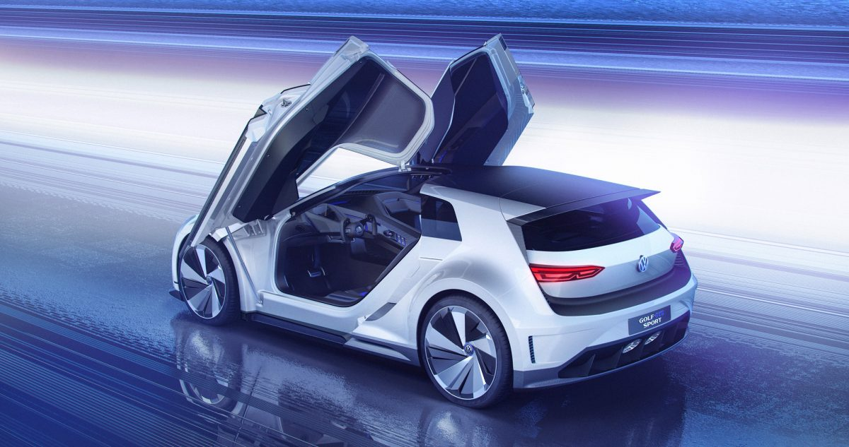 vw golf gte sport sportconcept mit fl gelt ren und 400 ps. Black Bedroom Furniture Sets. Home Design Ideas