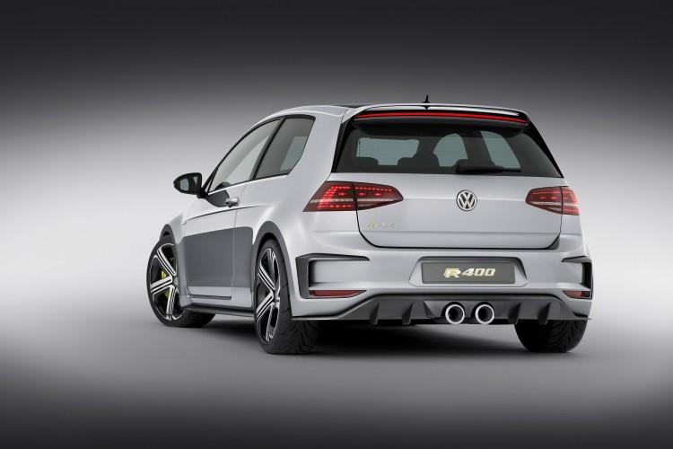 Beim Konzept gab es markante Züge, die Serie des VW Golf R 420 dürfte aber schlichter ausfallen.