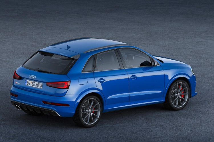 Knackige Figur bei 367 PS: Der Audi RS Q3 performance arbeitet erneut mit dem 2.5 TFSI.