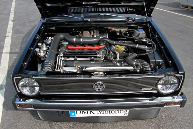 Mit DMK Motoring zu neuer Leistung: Der VW Golf 1 Turbo mit mächtigem Umbau.