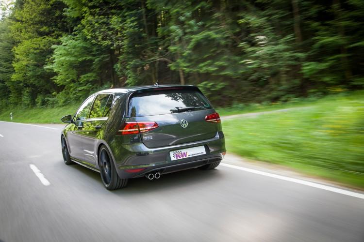 Auf den ersten Blick nimmt sich der VW Golf GTE nicht allzu viel Extravaganz heraus.