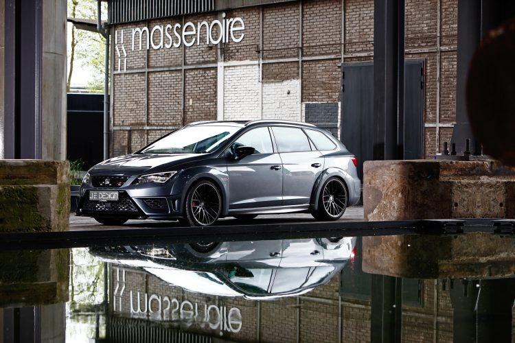 Deutlich knackiger als die Serie: JE Design verleiht dem Seat Leon Cupra ST 290 nicht nur mehr Power.