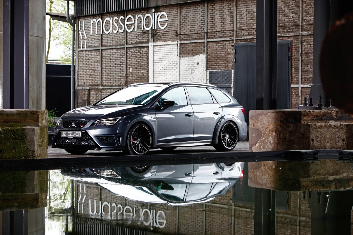 seat leon cupra st 290 je design bringt den spanierauf. Black Bedroom Furniture Sets. Home Design Ideas