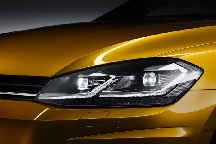 LED-Scheinwerfer beim VW Golf 7 Facelift