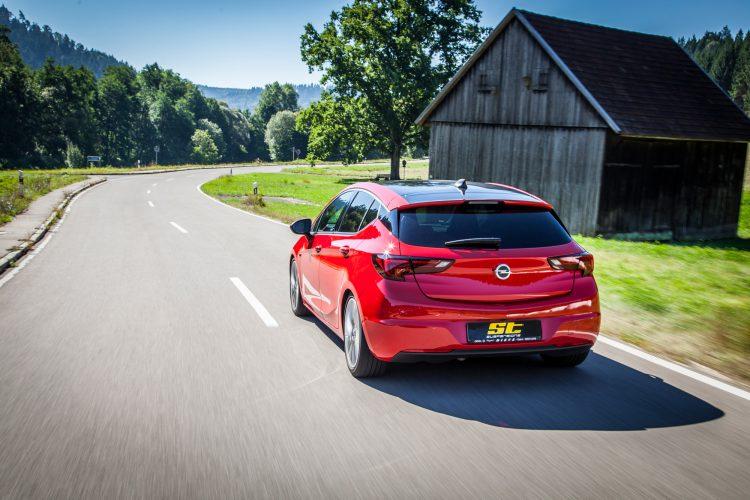 Unterwegs mit dem Opel Astra K