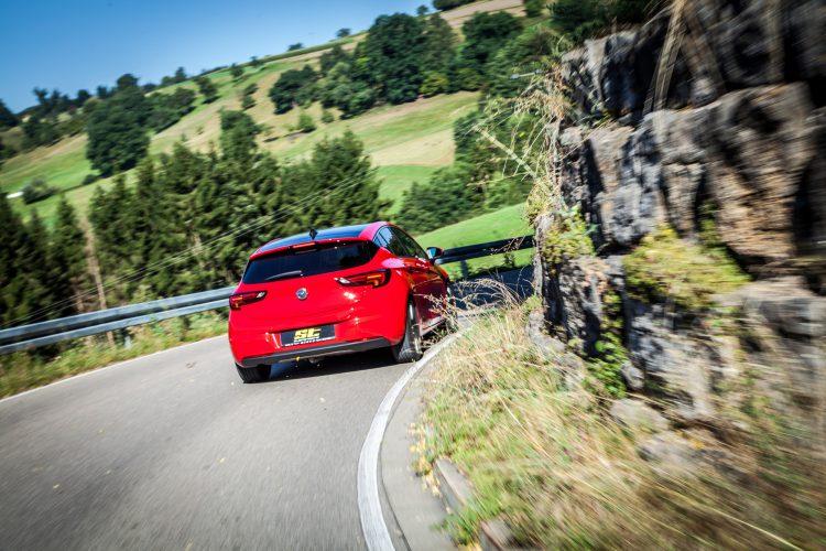 Kurvenjagd mit dem Opel Astra K