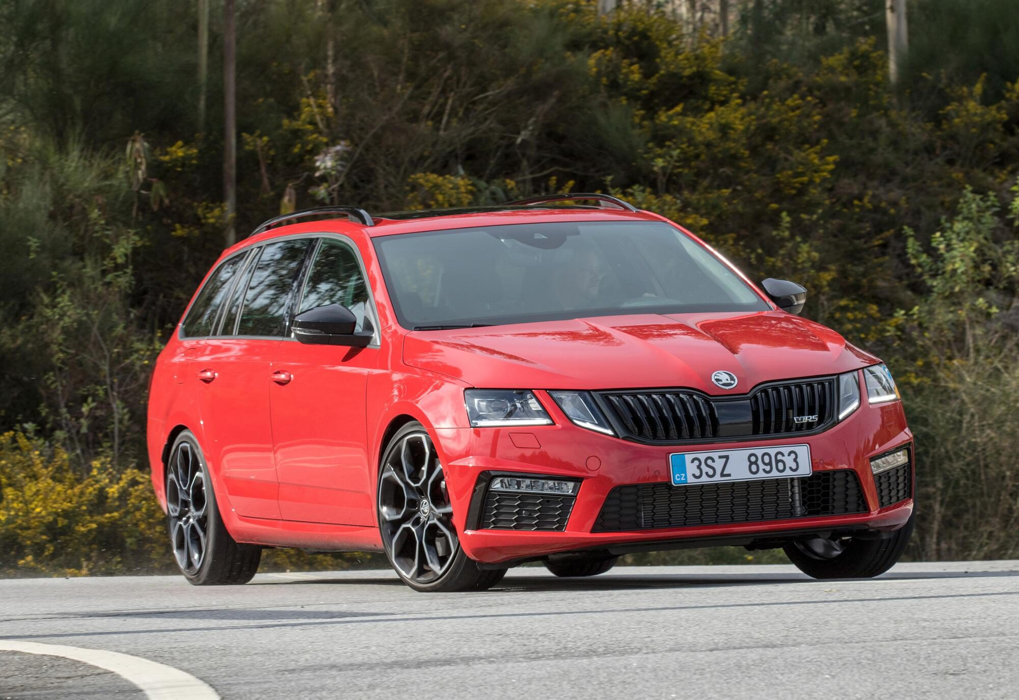 Die Kombi-Version des Skoda Octavia RS 245.