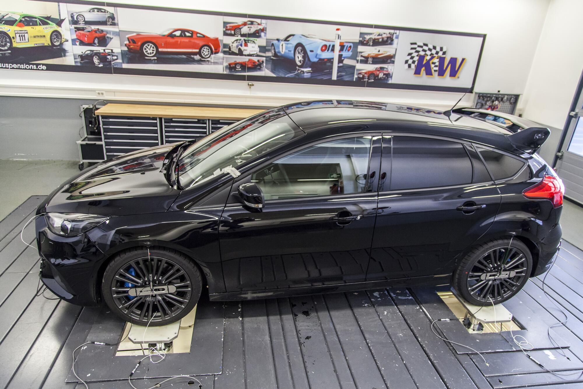 Der Ford Focus RS auf dem Prüfstand