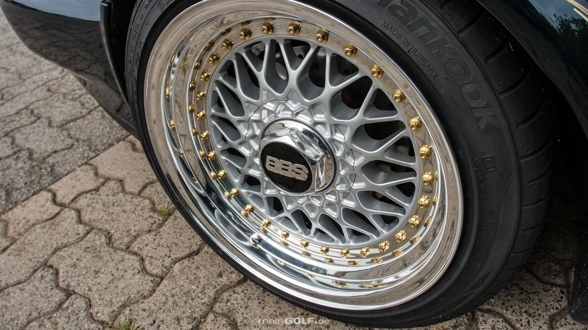 BBS und VW Golf Cabrio: Diese Kombi passt einfach immer!