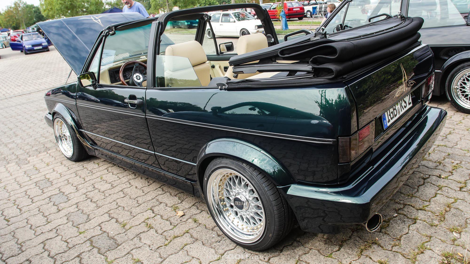 Das VW Golf Cabrio bietet ein gelungenes Gesamtpaket in Sachen Tuning!