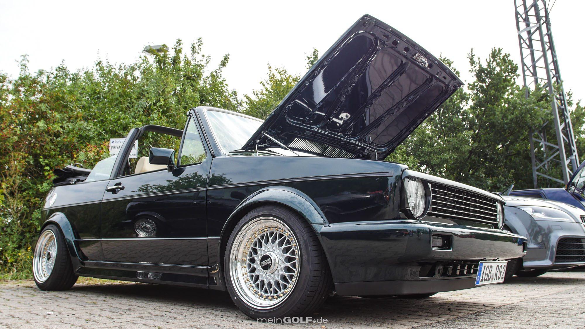 Große Klappe, viel dahinter: VW Golf Cabrio!