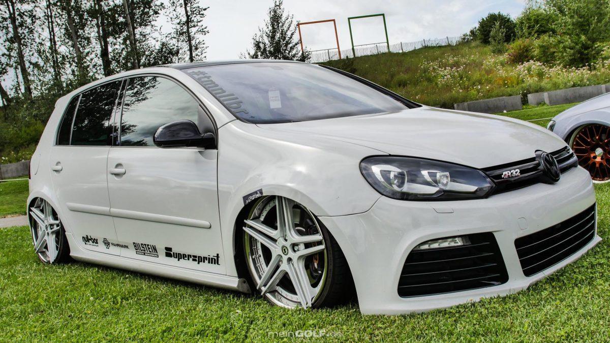 Frontansicht des VW Golf V