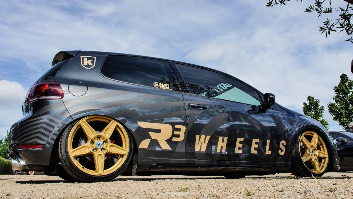 Seitenansicht des VW Golf VI GTI
