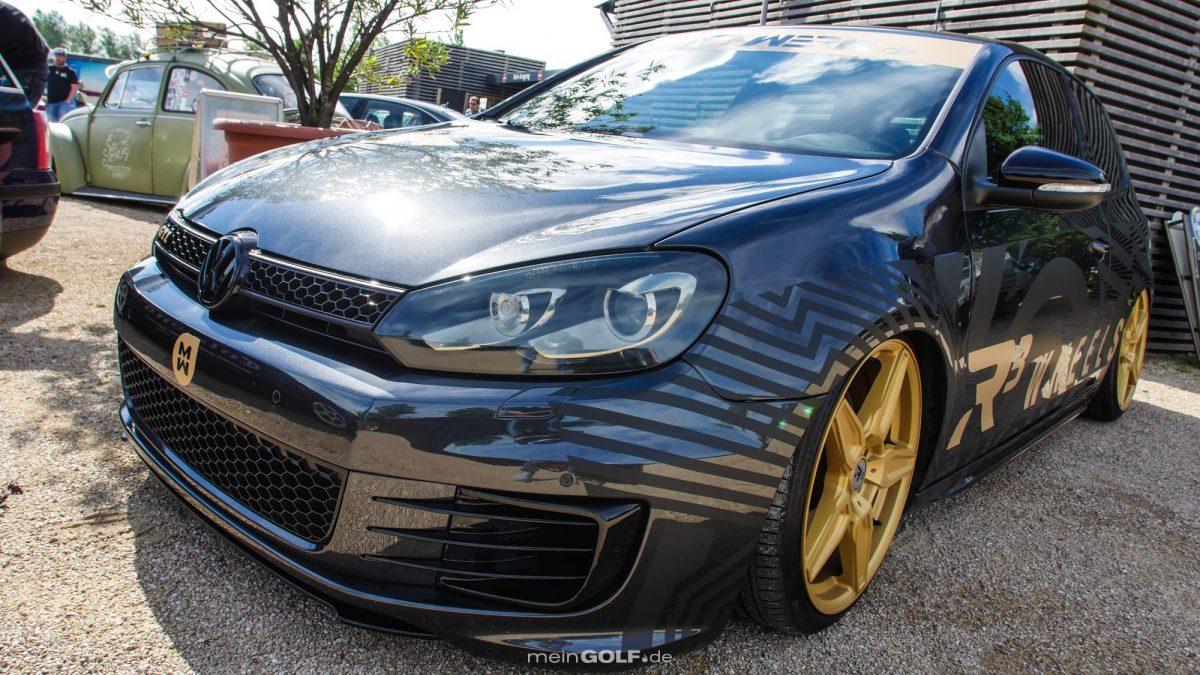 Frontpartie des VW Golf VI GTI