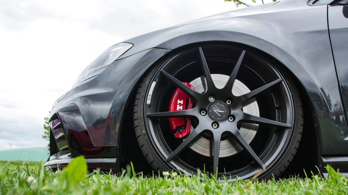 Z-Performance-Räder auf dem VW Golf VII GTI Clubsport