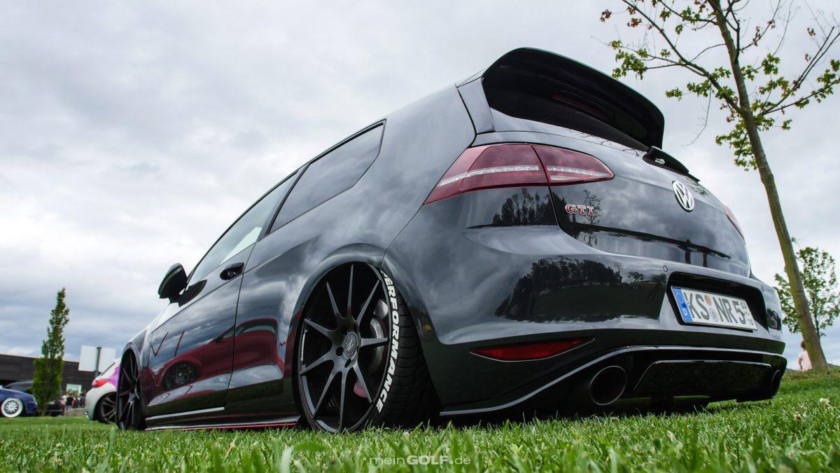 Der knackige Hintern des VW Golf VII GTI Clubsport