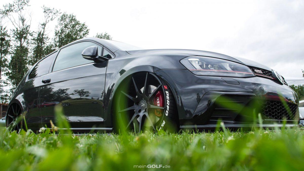 Frontansicht des VW Golf VII GTI Clubsport