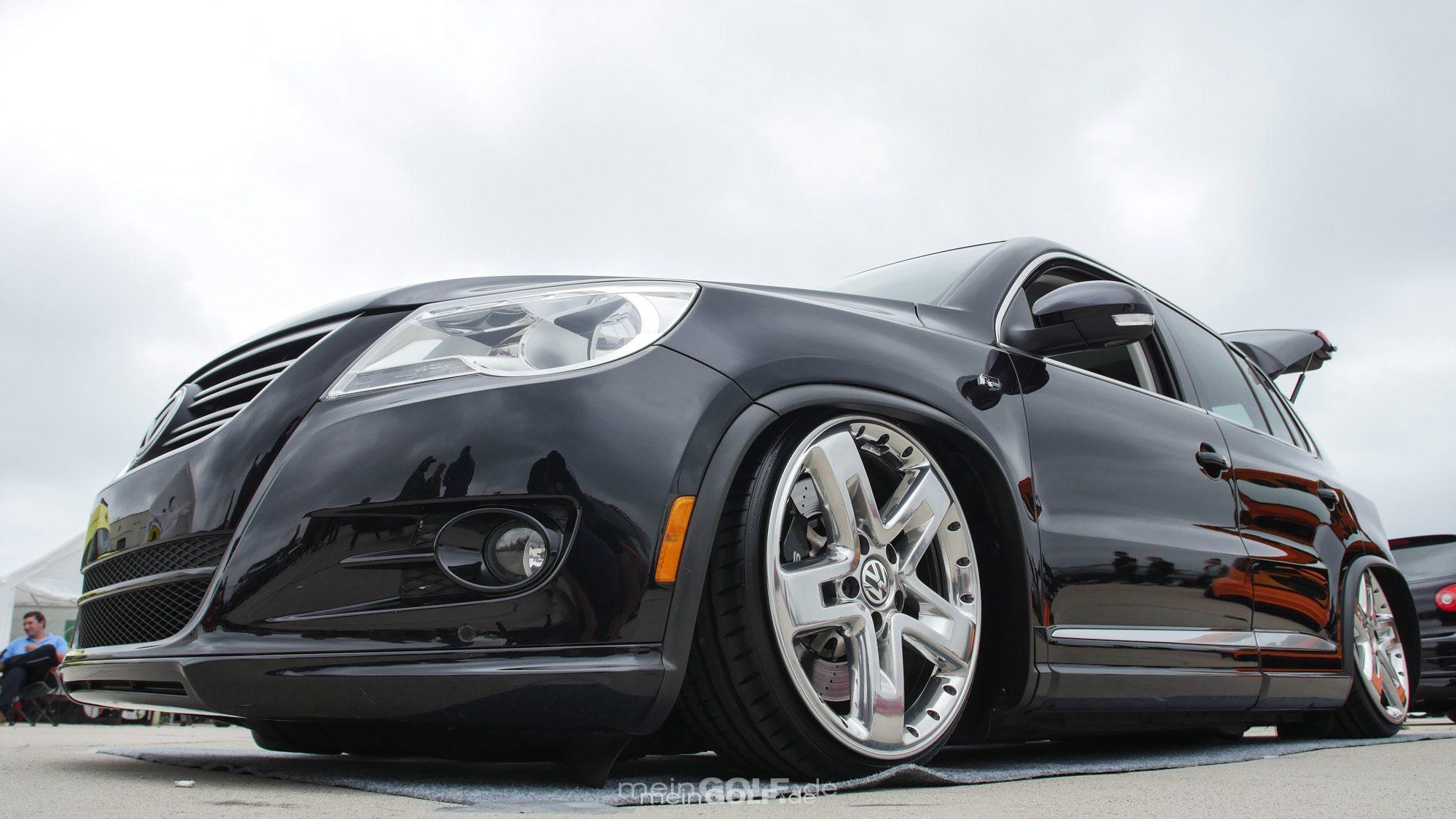 Frontansicht des VW Tiguan