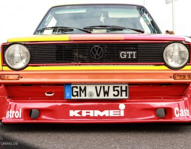 Frontansicht des VW Golf I im Kamei-Look