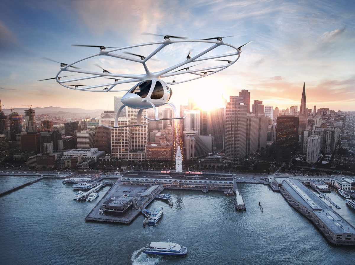 Volocopter Passagierdrohne