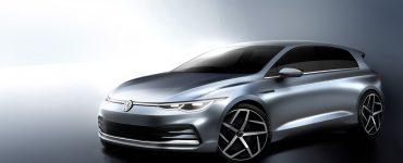 VW Golf 8 Bilder Front