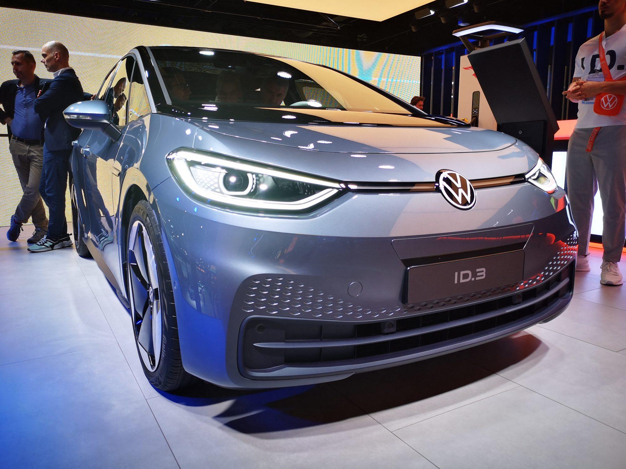 VW ID3 auf der IAA 2019 in Frankfurt