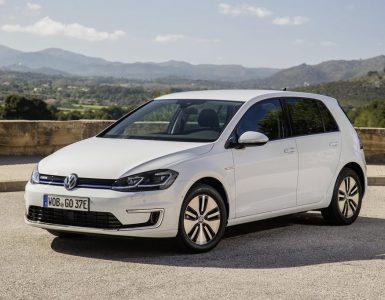 VW E-Golf Frontansicht