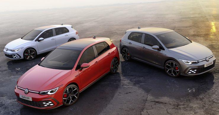 GTE, GTI und GTD Modell des neuen VW Golf 8